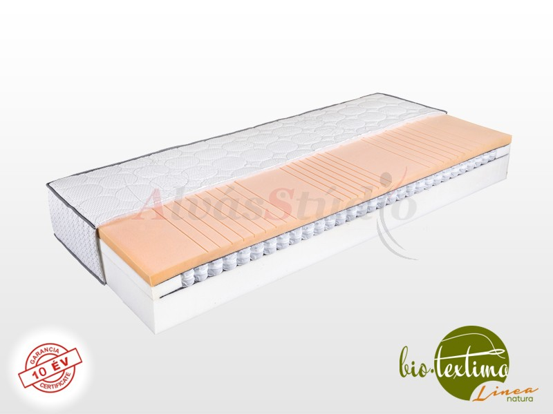 Bio-Textima Lineanatura Zenit zsákrugós hideghab matrac 190x210 cm Standard fix huzattal