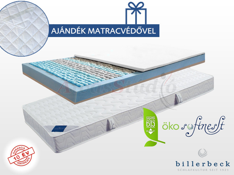 Billerbeck Verona zsákrugós matrac 140x200 cm