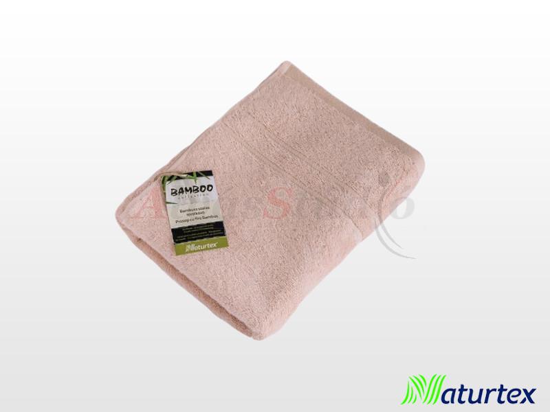 Naturtex Bambuszos törölköző Púder rózsaszín 50x100 cm