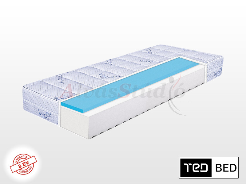 TED Lavender Memory matrac 120x200 cm vákuumcsomagolt