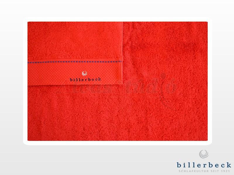 Billerbeck pamut törölköző Karmazsin vörös 50x100 cm