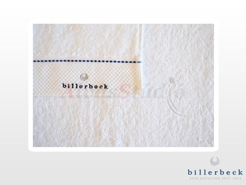 Billerbeck pamut törölköző fehér rizs kötéssel 70x140 cm