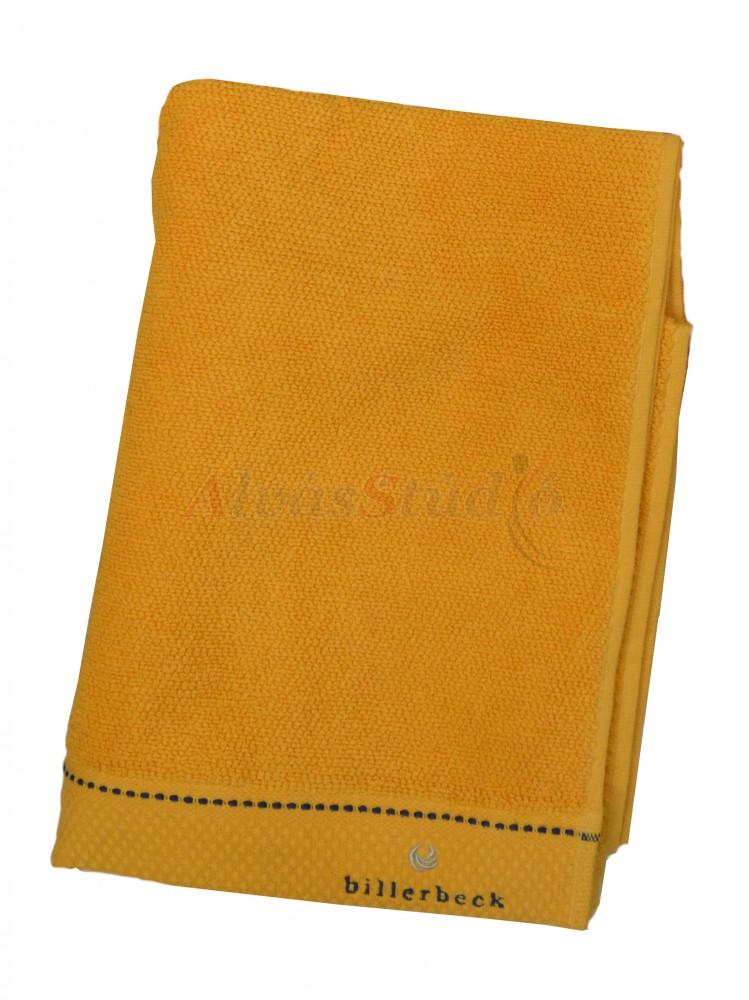 Billerbeck pamut törölköző kadmium sárga 50x100 cm