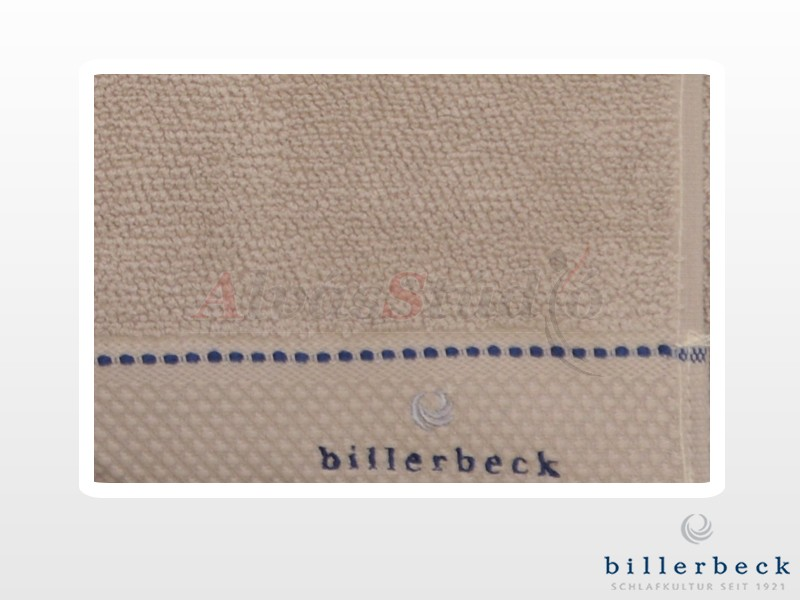 Billerbeck pamut törölköző Világos szürke 50x100 cm
