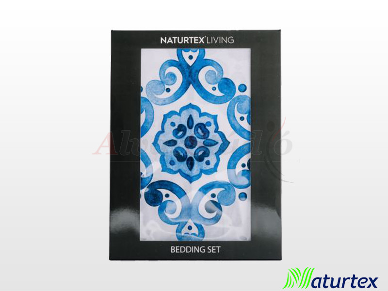 Naturtex 3 részes pamut-szatén ágyneműgarnitúra Paint 140x200 cm - 70x90 cm - 40x50 cm