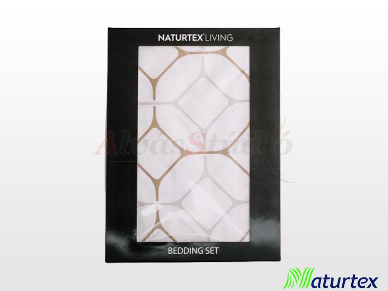 Naturtex 2 részes pamut-szatén ágyneműgarnitúra Honey 140x200 cm - 70x90 cm