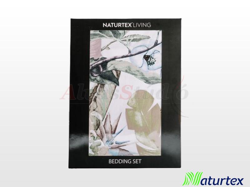 Naturtex 5 részes pamut-szatén ágyneműgarnitúra Lily 200x220 cm - 2db 70x90 cm - 2 db 40x50 cm