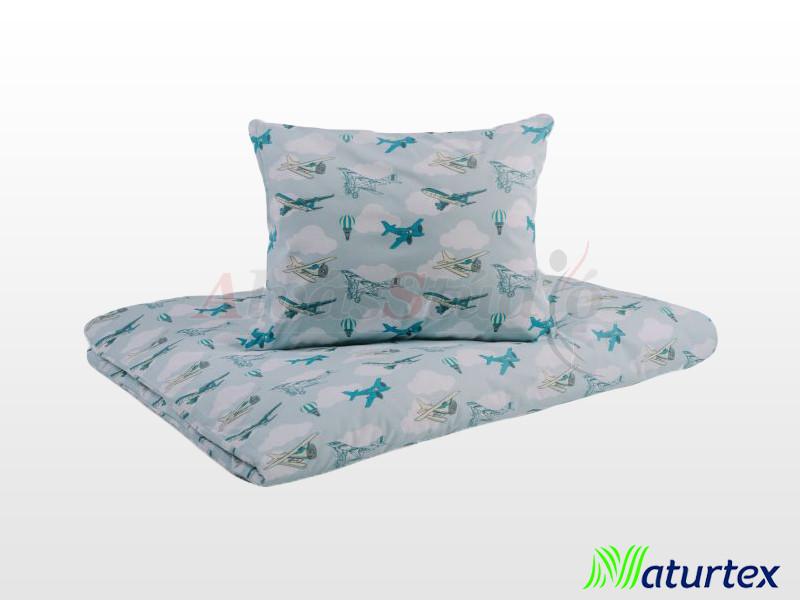 Naturtex 2 részes Repcsik gyermek ágyneműhuzat 90x130 cm - 40x50 cm