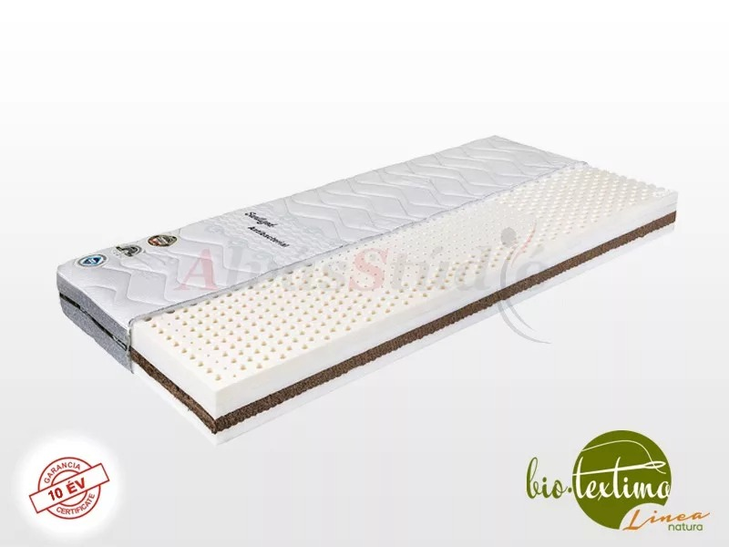 Bio-Textima Lineanatura Royal-4L latex-kókusz bio matrac 200x200 cm Tencel huzattal