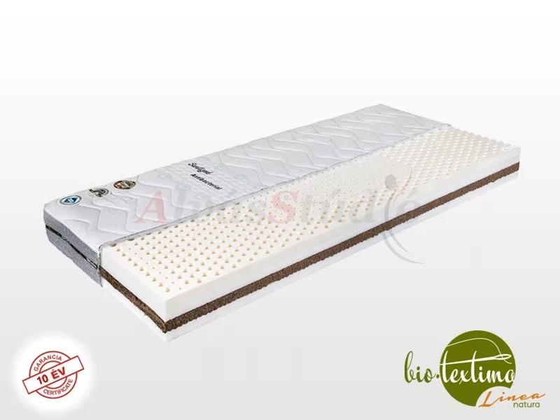 Bio-Textima Lineanatura Royal-4L latex-kókusz bio matrac  80x190 cm Sanitized huzattal