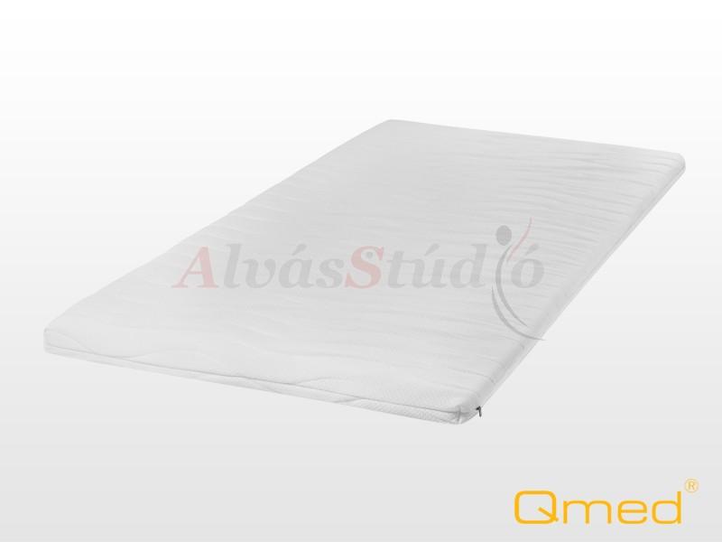 QMED memóriahabos fedőmatrac 160x200x4 cm