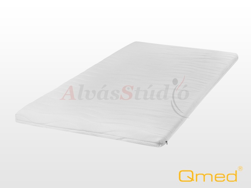 QMED memóriahabos fedőmatrac  90x200x6 cm