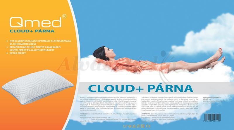 QMED Cloud Plus memóriapehely párna 70x50 cm