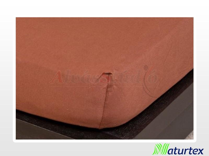 Naturtex Jersey gumis lepedő Csokibarna 200x200 cm