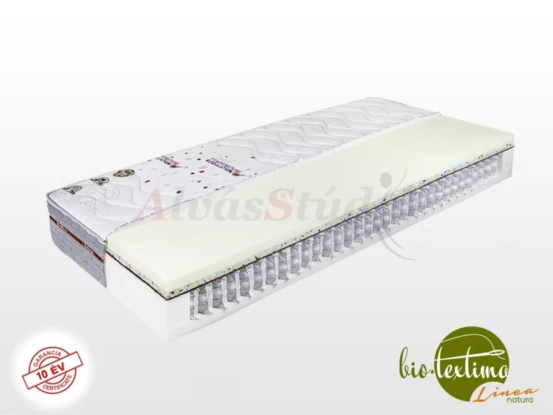 Bio-Textima Lineanatura Admiral-M zsákrugós matrac 200x190 cm Smart Clima huzattal
