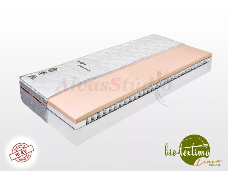 Bio-Textima Lineanatura Zenit zsákrugós hideghab matrac 200x200 cm Smart Clima huzattal
