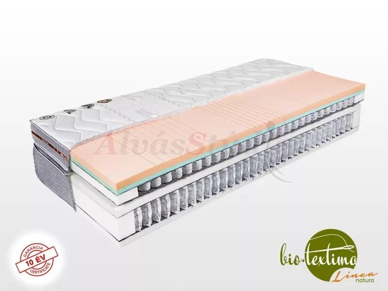 Bio-Textima Lineanatura VarioFeel Royal dupla zsákrugós matrac 200x190 cm Tencel huzattal
