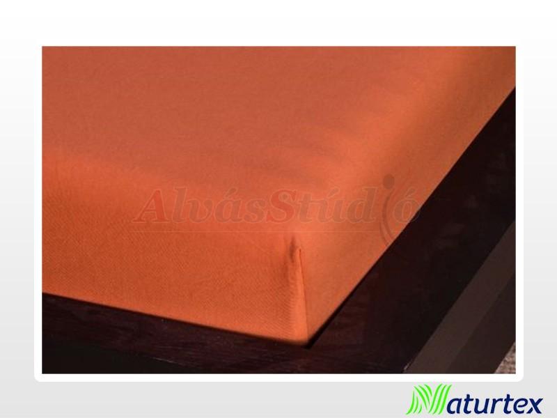 Naturtex Jersey gumis lepedő Fahéj 180-200x200 cm