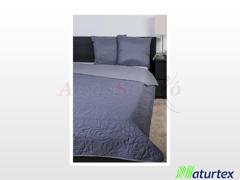 Naturtex Emily microfiber ágytakaró szürke-grafit 235x250 cm