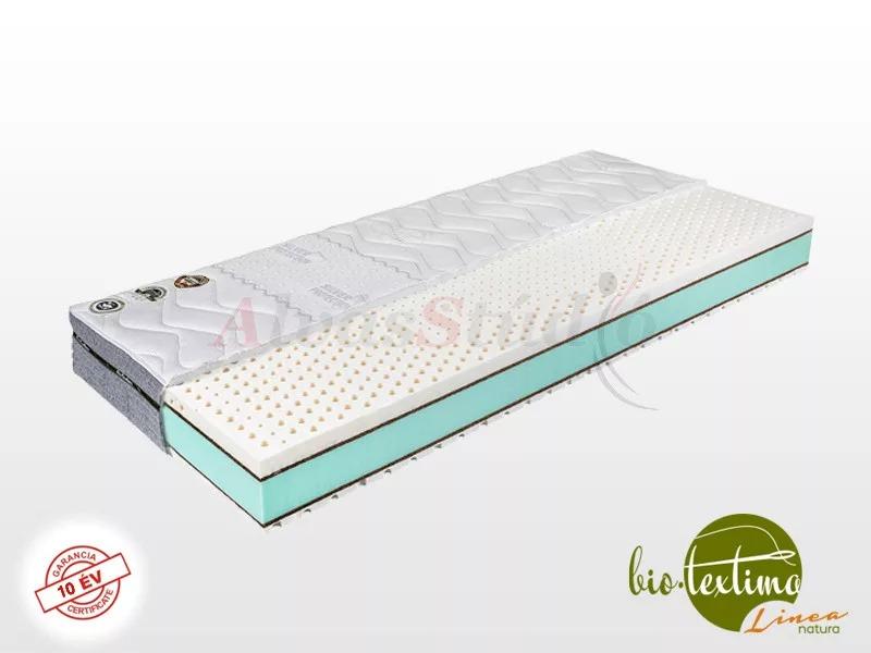 Bio-Textima Lineanatura Infinity Next latex-kókusz-hideghab bio matrac 130x190 cm Smart Clima huzattal