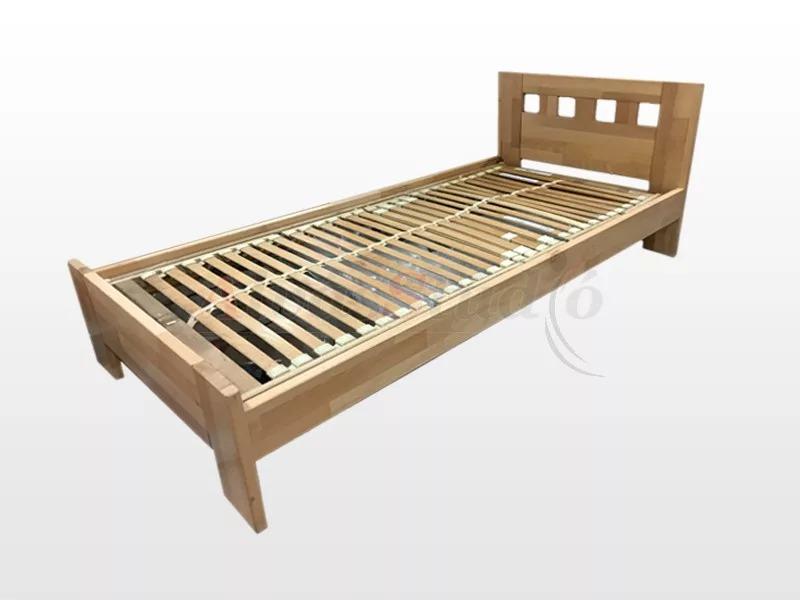 Laxter Zalán - hossztoldott bükk ágykeret  90x200 cm