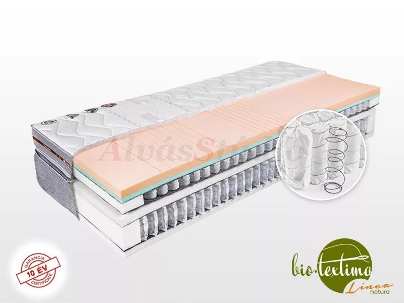 Bio-Textima Lineanatura VarioFeel Royal HourGlass dupla zsákrugós matrac 200x190 cm Tencel huzattal