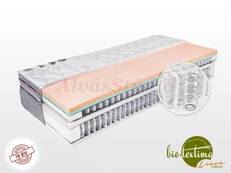 Bio-Textima Lineanatura VarioFeel Royal HourGlass dupla zsákrugós matrac  80x200 cm Tencel huzattal