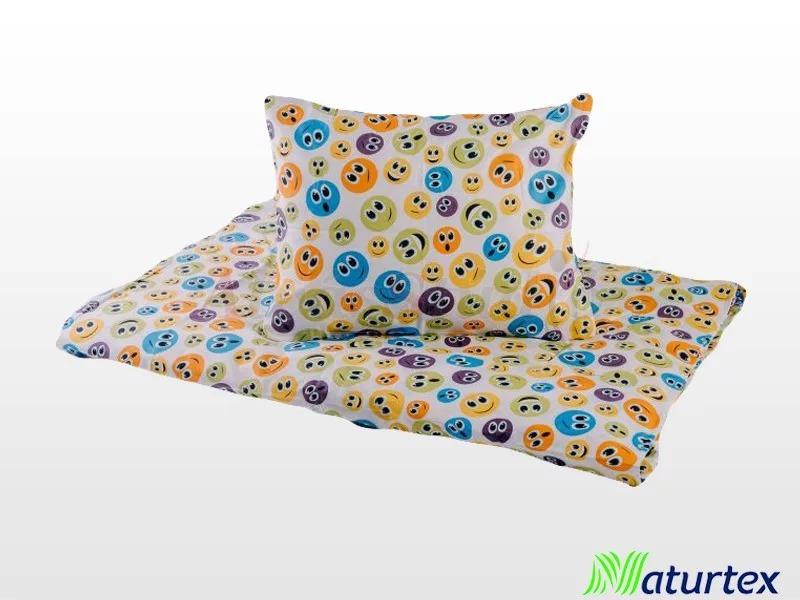 Naturtex 2 részes Smile gyermek ágyneműhuzat 90x130 cm - 40x50 cm