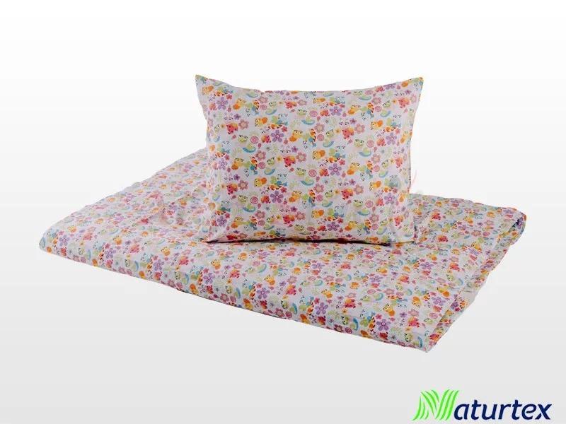 Naturtex 2 részes Katica gyermek ágyneműhuzat 90x130 cm - 40x50 cm