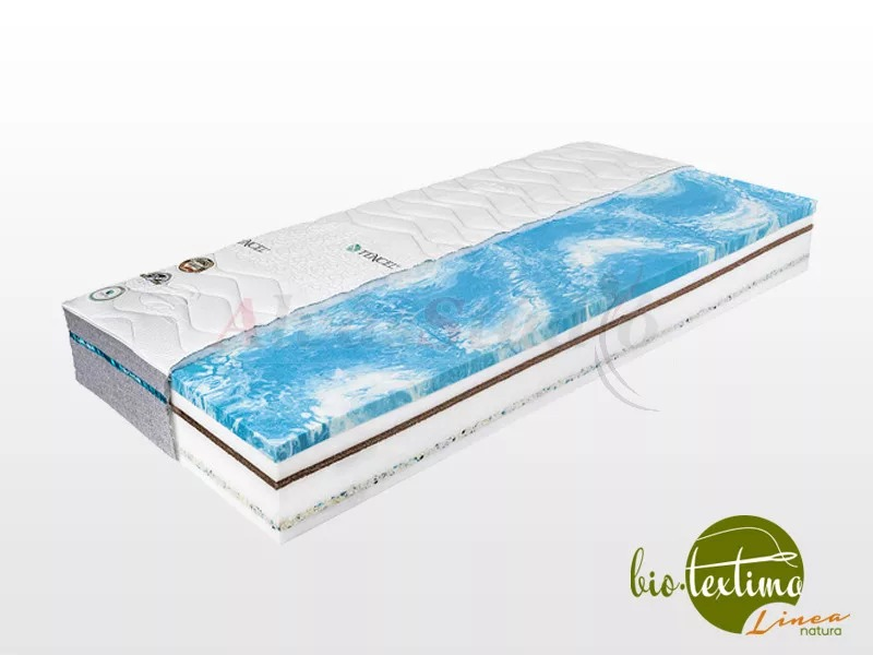 Bio-Textima Lineanatura Fitness Max-M memory matrac  90x190 cm Sanitized huzattal