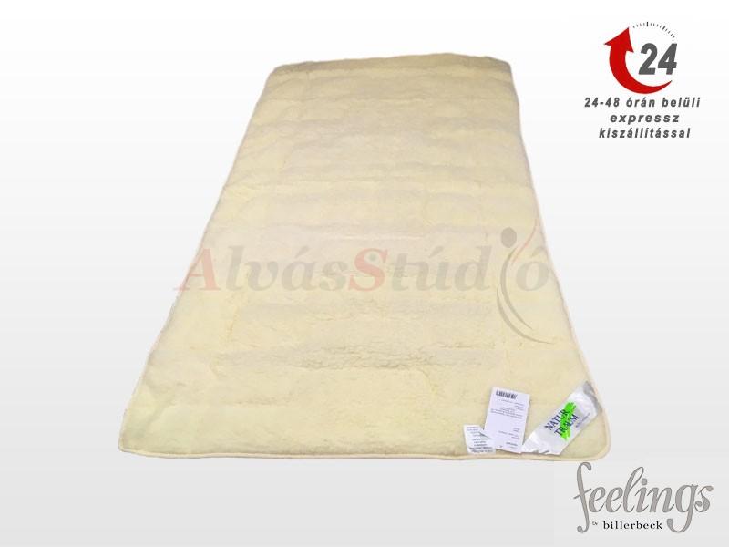 NATUR TRAUM mágneses szőrme-gyapjú matracvédő (derékalj)  80x200 cm
