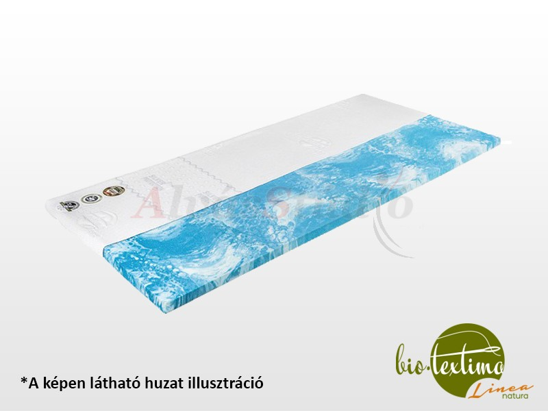 Bio-Textima Lineanatura CoolGel Memory fedőmatrac 100x200 cm Smart Clima huzattal