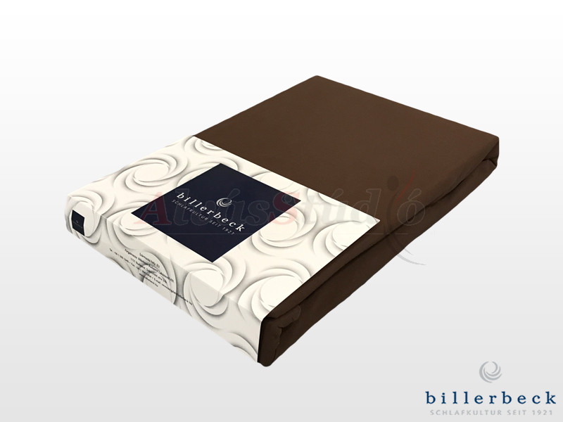 Billerbeck Rebeka Jersey gumis lepedő Brownie 140-160x200 cm