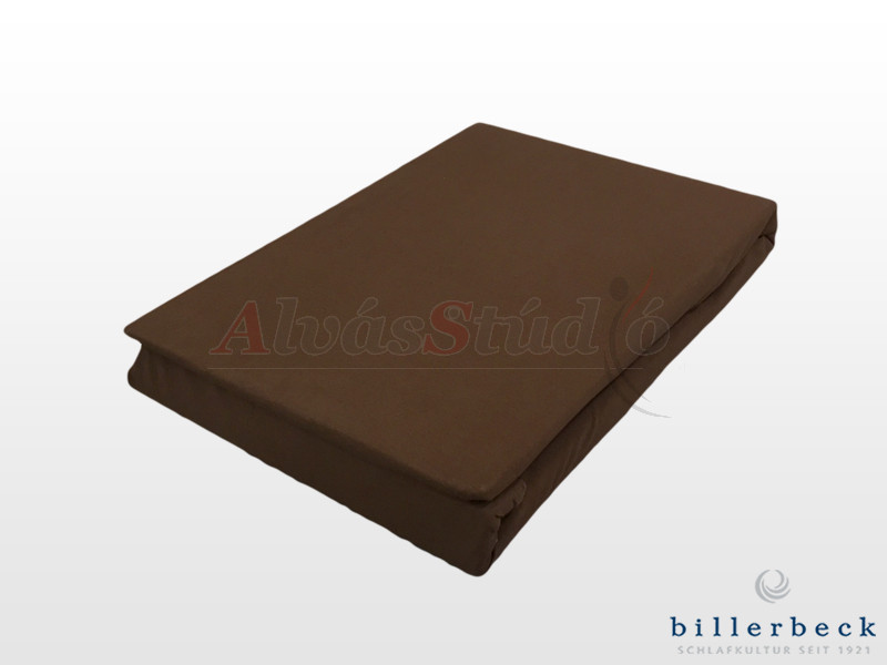Billerbeck Rebeka Jersey gumis lepedő Brownie 180-200x200 cm