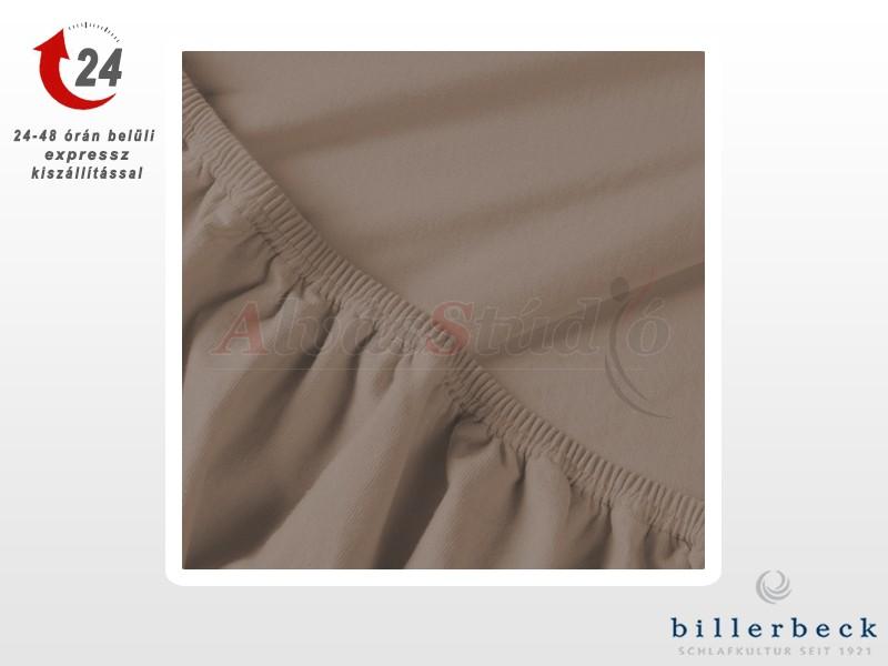 Billerbeck Rebeka Jersey gumis lepedő Kapucíner 140-160x200 cm
