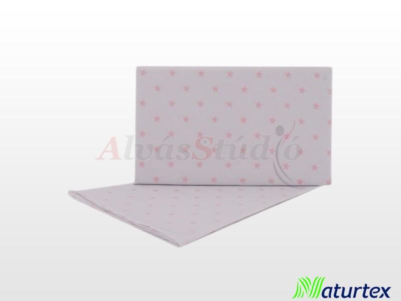 Naturtex 2 részes Baby Star gyermek ágyneműhuzat rózsaszín 70x90 cm - 30x40 cm