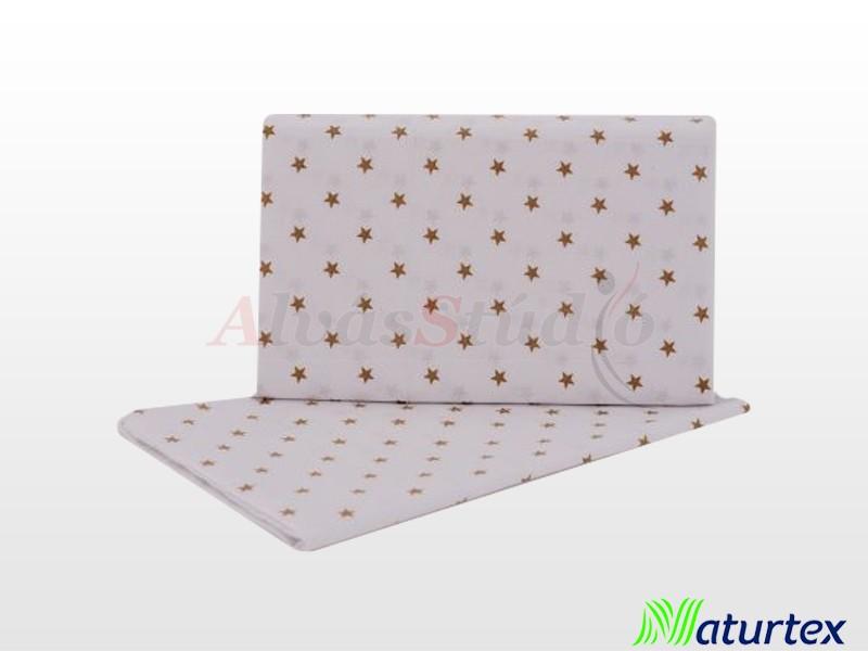 Naturtex 2 részes Baby Star gyermek ágyneműhuzat barna 70x90 cm - 30x40 cm