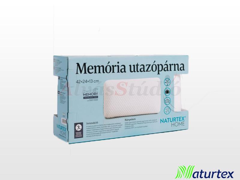 Naturtex memory utazópárna 42x24x13 cm