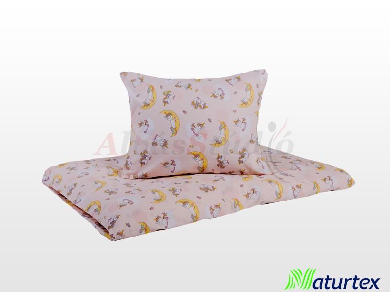 Naturtex 2 részes Unikornis gyermek ágyneműhuzat 90x130 cm - 40x50 cm