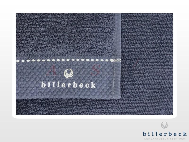 Billerbeck pamut törölköző Tintahal elkenődött szemfestéke 70x140 cm