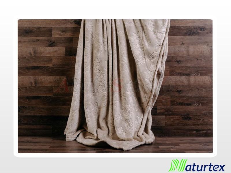 Naturtex Pamut-akril Baroque mintás pléd 200x220 cm