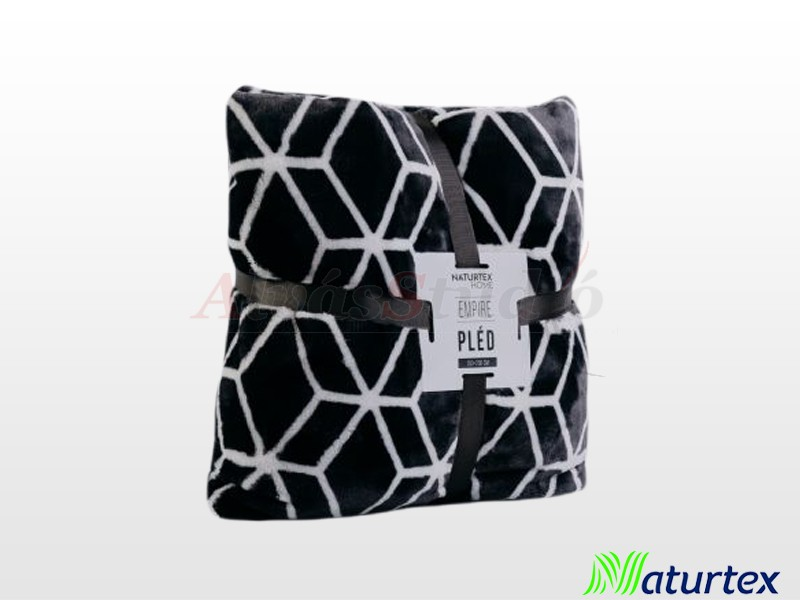 Naturtex Pamut-akril Empire mintás pléd 200x220 cm