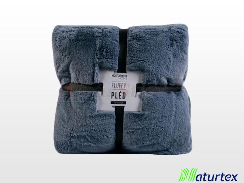 Naturtex Pamut-akril Fluffy mintás pléd 200x220 cm