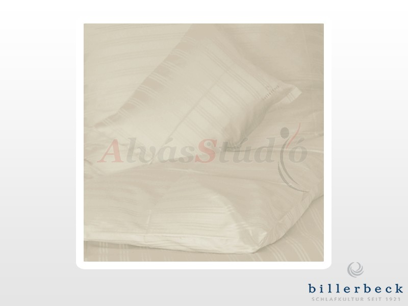 Billerbeck Réka 3 részes pamut-szatén ágynemű Panna cotta 140x200 cm - 70x90 cm - 36x48 cm