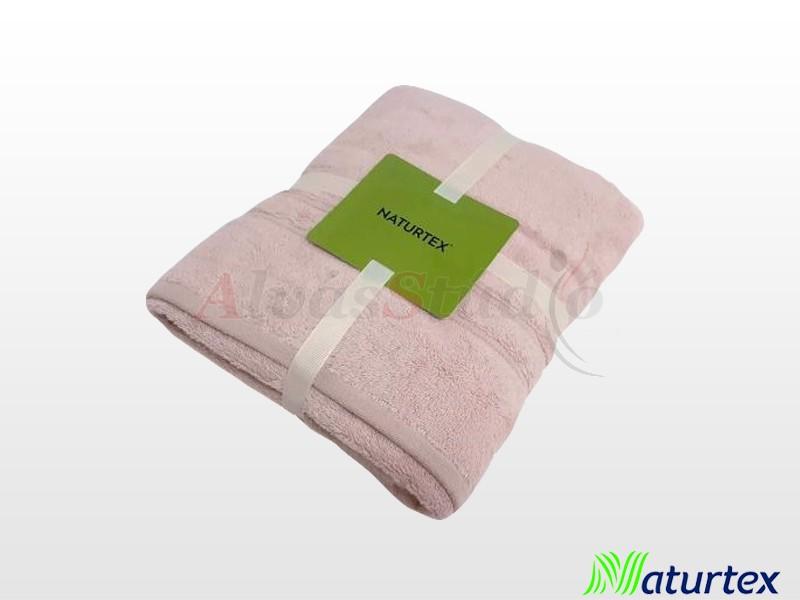 Naturtex Bambuszos törölköző Púder rózsaszín szett (50x100 cm + 70x140 cm)