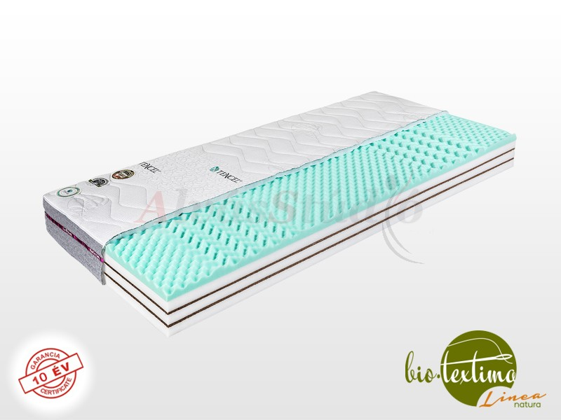 Bio-Textima Lineanatura Fitness Plus hideghab matrac 200x200 cm Sanitized huzattal