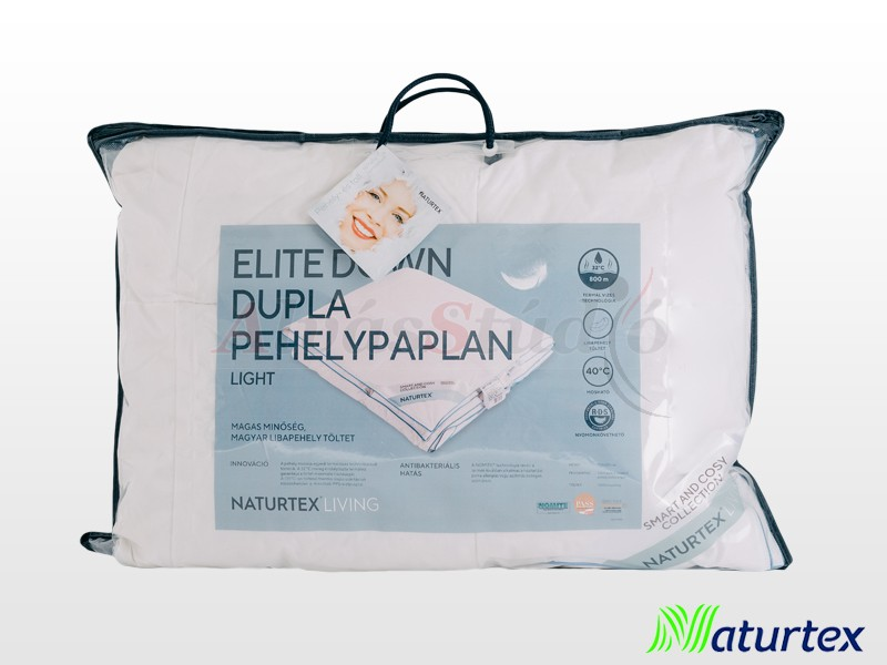 Naturtex Living Elite Down Light nyári pehelypaplan 200x220 cm