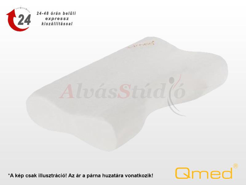 QMED horkolásgátló memory párna huzat 57x36x11,5/8 cm