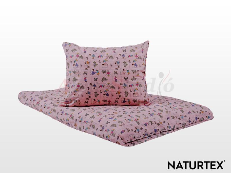 Naturtex 2 részes Erdei tündérek gyermek ágyneműhuzat 90x130 cm - 40x50 cm
