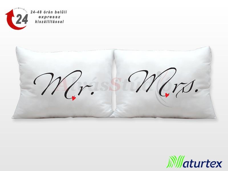 Naturtex Lamour Mr. és Mrs. párna szett 2db 40x50 cm